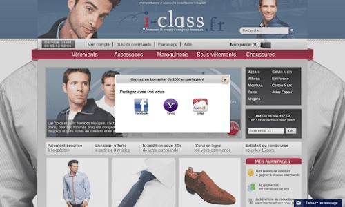 I CLASS : Vêtements et accessoires hommes