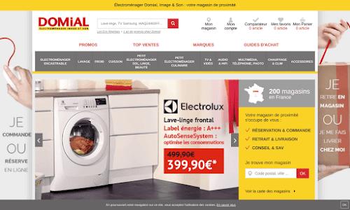 Domial : électroménager Généraliste en électroménager
