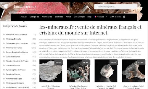 Minéraux français et cristaux du monde