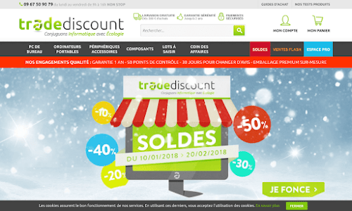 Trade Discount Ordinateur
