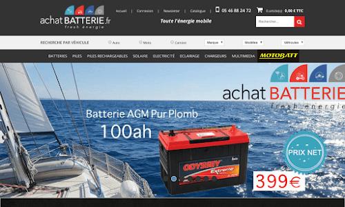 Achat Batterie Accessoires auto, moto et bateau