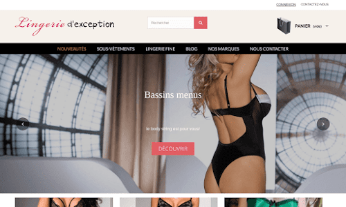 Lingerie d'Exception Lingerie