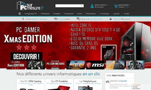 monPCsurmesure Ordinateur