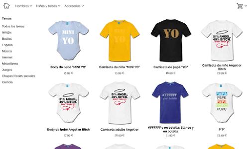 Tee-s camisetas originales y divertidas