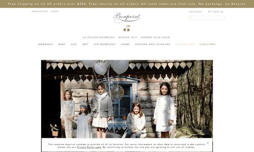 Bonpoint Boutique : La boutique de couture et de mode enfantine en ligne