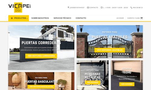 VICAPE, tu tienda online de automatismos y motores para puertas de garaje y portones