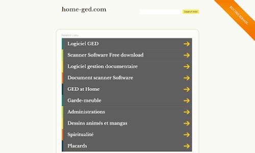 HomeGed : logiciel de gestion documentaire
