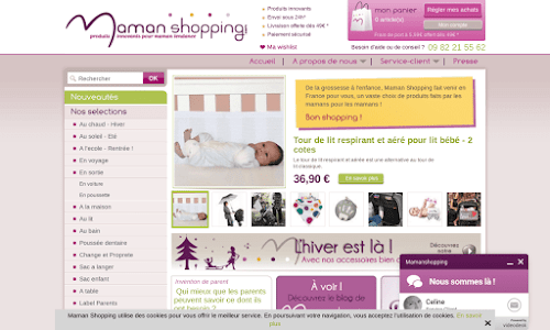 Maman Shopping, des produits innovants pour mamans tendance Bébé et enfant
