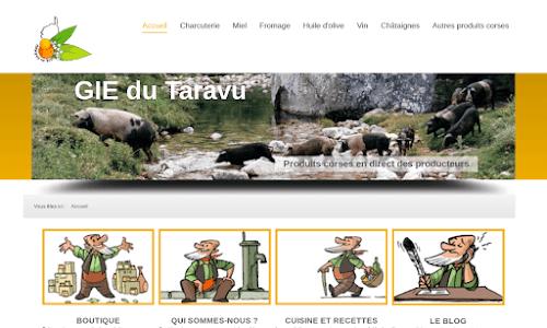 GIE du Taravu, produits corses, vente directe en ligne par les producteurs Produits du terroir