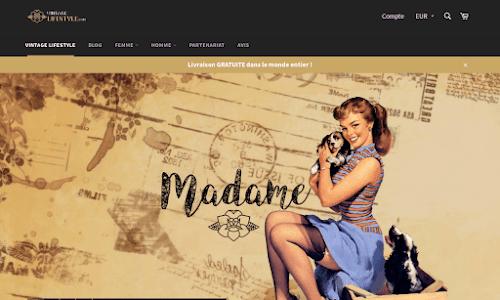 Vintage-Lifestyle Mode Femme