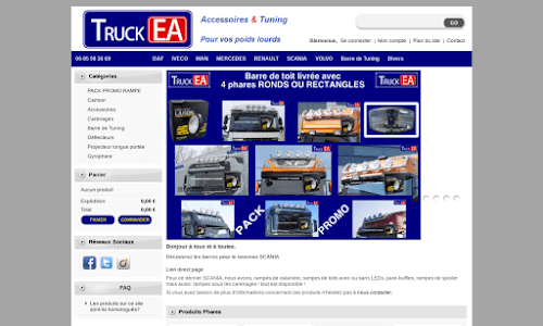 TruckEA Accessoires auto, moto et bateau