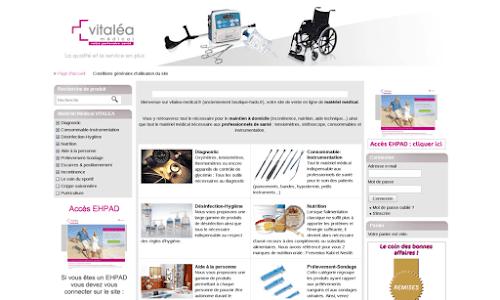 Boutique-hado, vente en ligne de matériel médical