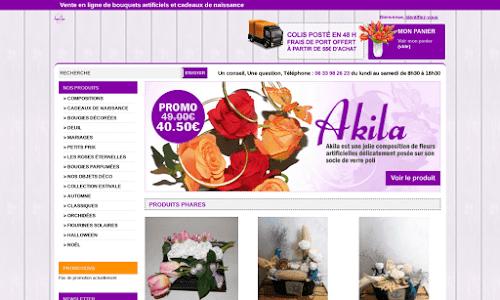 Bouquets de France : Fleurs artificielles et plantes artificielles