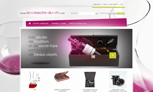 Accessoires du vin Alcool, vin et spiritueux