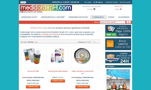 Medidordeph Piscina y accesorios