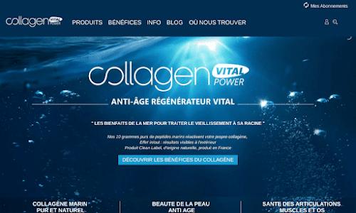 Collagen vital power Alimentation bio et diététique
