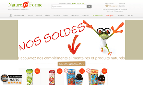 Compléments alimentaires et produits biologiques