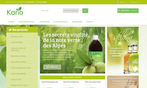 Produits à base de noix verte Produit biologique