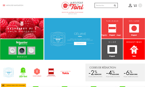 La boutique de Toni - Appareillage électrique pour la maison