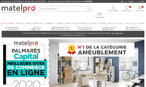 Matelpro Mobilier