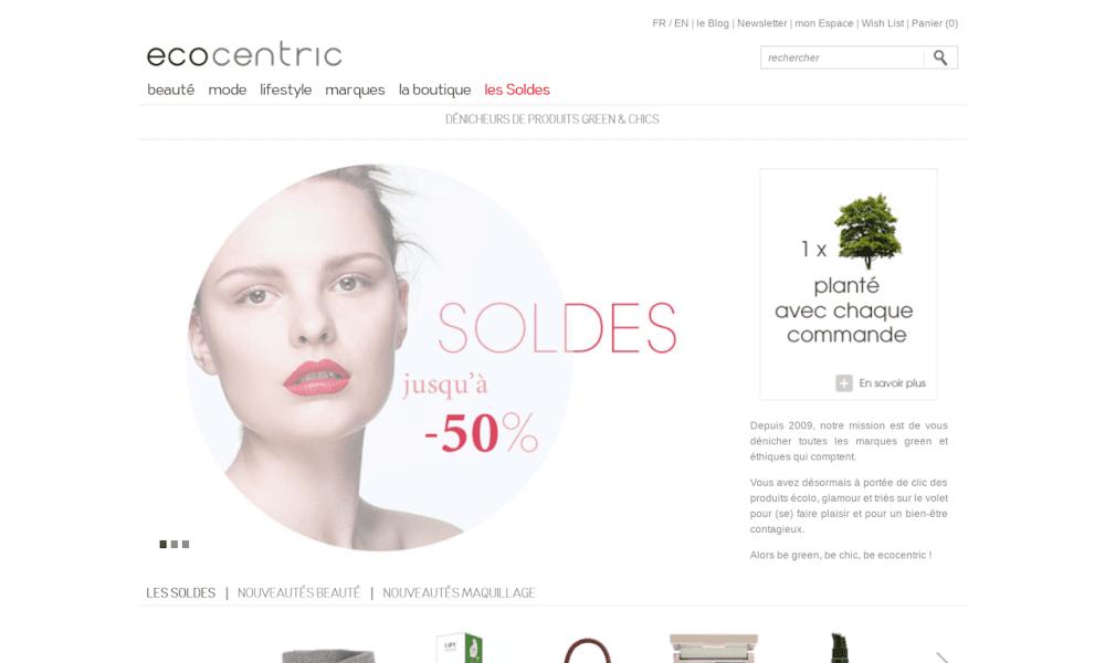 Ecocentric : La boutique éco-chic