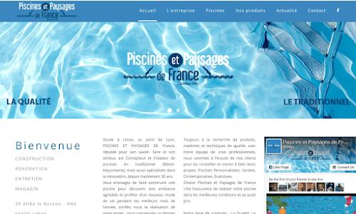Piscines et Paysages de France Piscines et accessoires