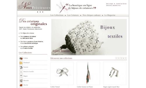 Bijoux de créateur, contemporains & haut de gamme