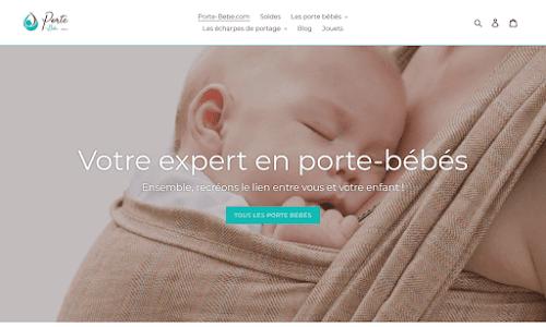 Porte-Bebe.com Bébé et enfant