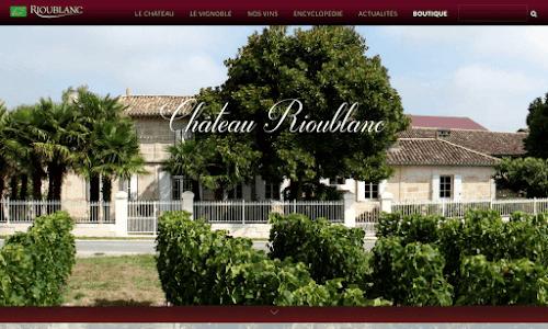chateau Rioublanc : colis gourmands