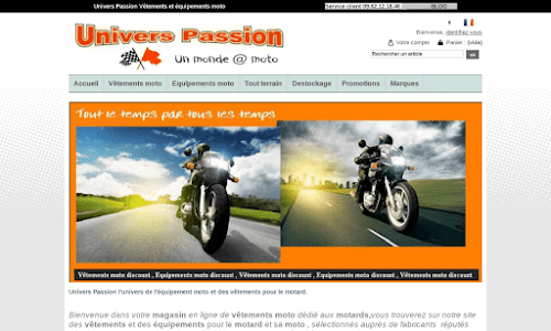 Univers Passion 2 roues