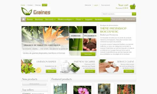 Boutiques jardinage en ligne for Boutique jardinage en ligne