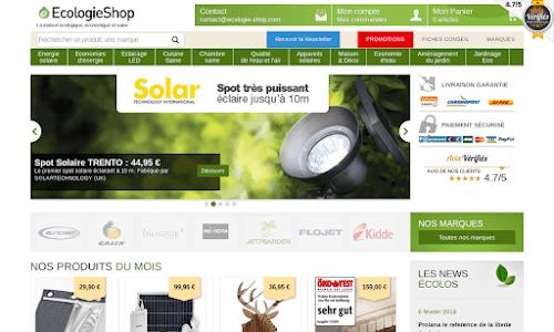 Ecologie-Shop : économiser l'énergie et l'eau Bricolage