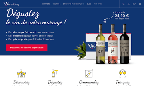 Winedding Alcool, vin et spiritueux