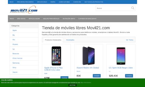 Movil21 Telefonía móvil
