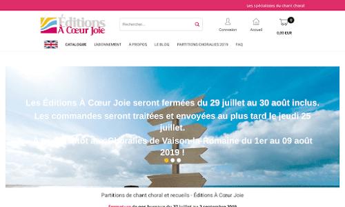 Éditions À Cœur Joie