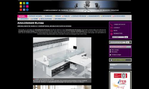 Buromedia - vente de mobilier de bureau Fourniture et mobilier