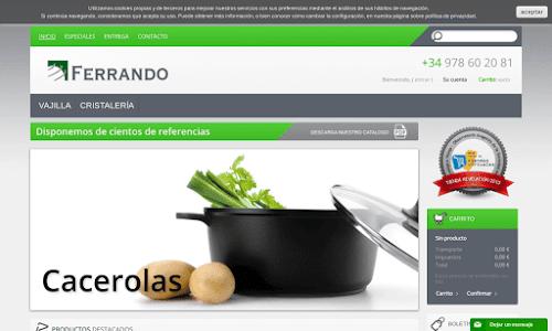 Cafés Ferrando Generalista en electrodomésticos