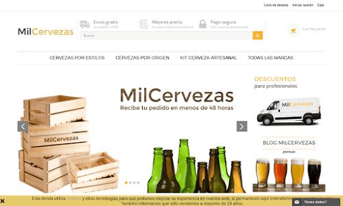 MilCervezas Alcohol, vinos y licores