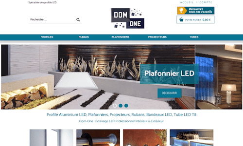 DoM OnE : L'électricté haut de gamme à prix réduit Electricité & domotique