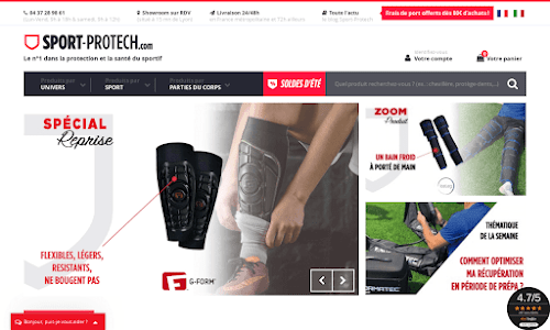 Sport Protech Matériel