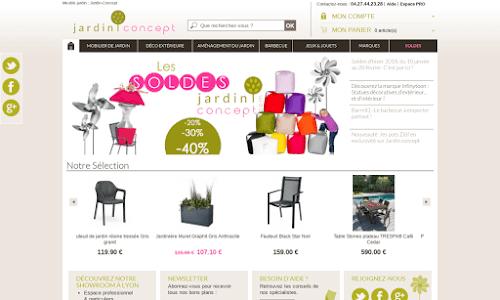 Jardin-Concept, produits et aménagement extérieurs