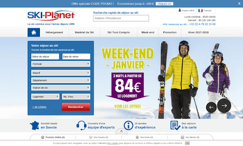Ski Planet Location vacances