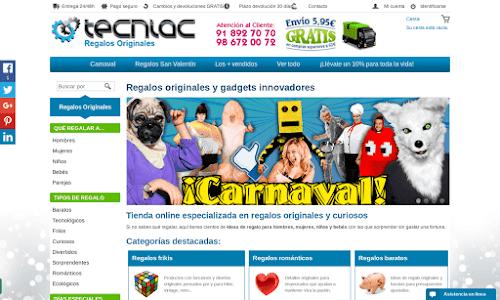 Regalos Originales Tecniac