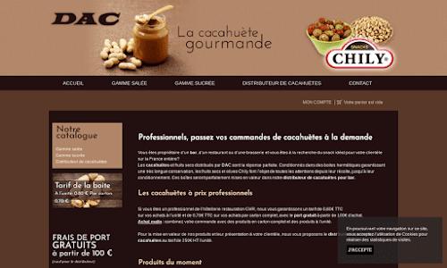 Distributeur cacahuètes Alimentation