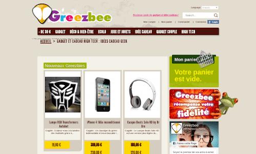 Greezbee Cadeaux